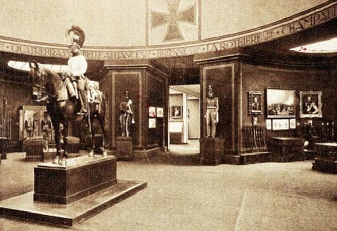 Historyczna część Wystawy Stulecia