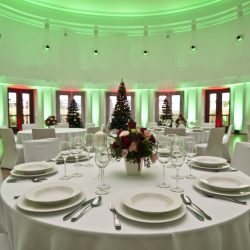 Aranżacja świąteczna w Sali Cesarskiej