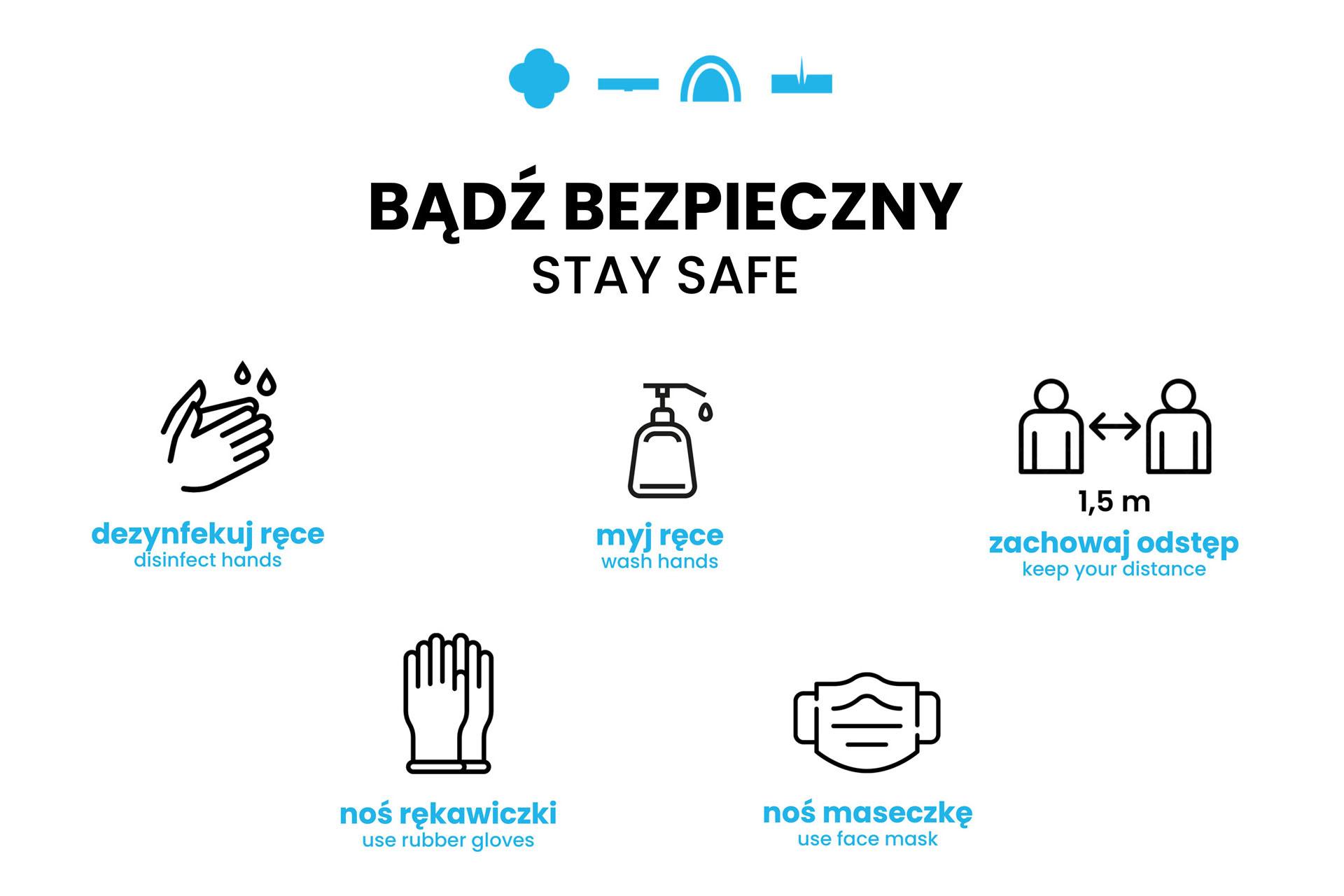 Bądź bezpieczny - zasady