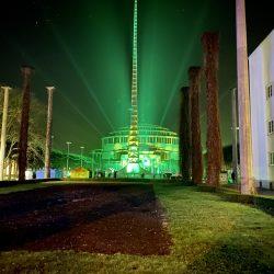 Lightshow na Placu pod Iglicą