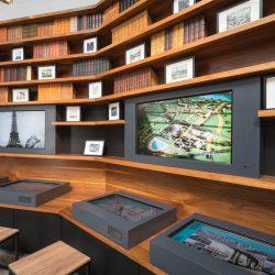 Ekspozycja multimedialna w Visitor Centre