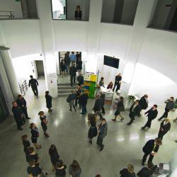 Wejście do WCK - hall łączący dwa foyer