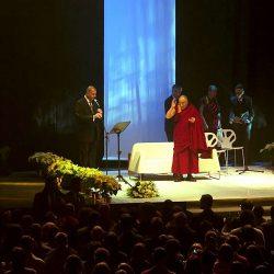 Dalajlama w Hali Stulecia