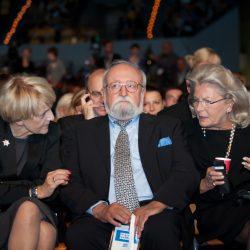 Danuta Hübner, Krzysztof Penderecki, Elżbieta Penderecka