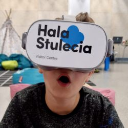 Zwiedzanie Virtual Reality