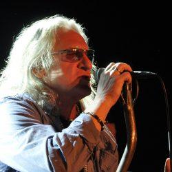 Grzegorz Markowski podczas koncertu Perfect w 2012 roku