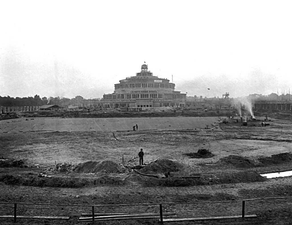 Budowa kompleksu Hali Stulecia
