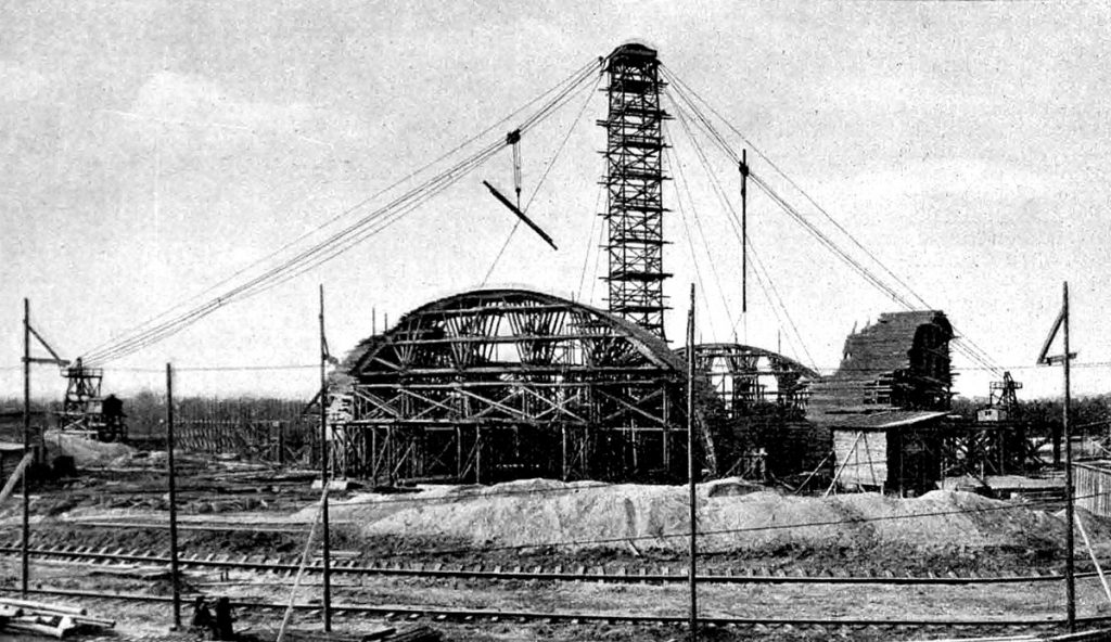 Budowa Hali Stulecia