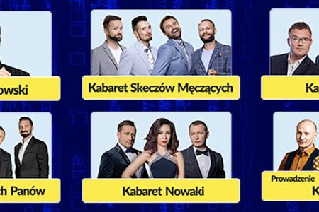 Polska Noc Kabaretowa plakat